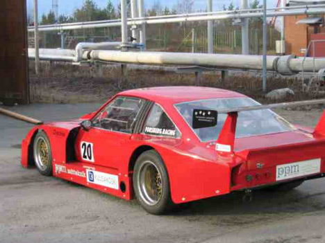 Manta B Gt2 Special Saloon From Sweden - Spotted While Out and About and Mantas Re United - Opel